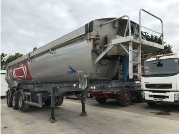 STAS Tipping Trailer - damperli dorse