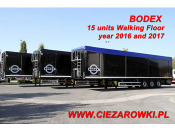 BODEX WALKING FLOOR KIS3B 15 UNITS! - kayar zemin dorse