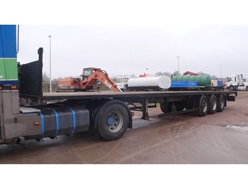 General Trailer TF34 (FRUEHAUF AXLES / DRUM BRAKES / FREINS TAMBOUR) - platform dorse