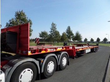 Platform dorse Goldhofer STZ DP 4-47 / 80 AAA Triple Wing Carrier 55.8 meters! 3 units available!