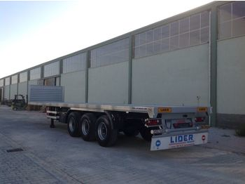 Platform dorse LIDER 2020 YEAR NEW MODELS containeer flatbes semi TRAILER FOR SALE: fotoğraf 1