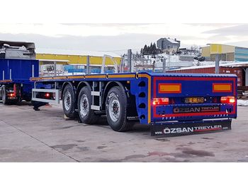 Platform dorse Vega Trailer 3 Axle PlatformExtendable Semi-Trailer New