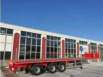 SDC Trailers Extendible flatbed - şasi dorse