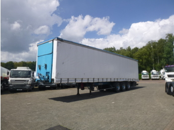Tenteli dorse Kaiser Curtain side trailer 92 m3 / lift axle