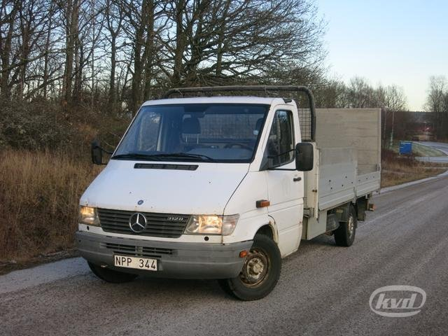 satılık mercedes sprinter 312 d pickup (aut+122hk) -99 kamyonet
