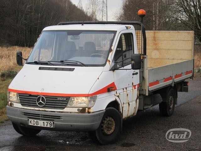satılık mercedes sprinter 312 d pickup (bg-lyft+122hk)(rep.objekt