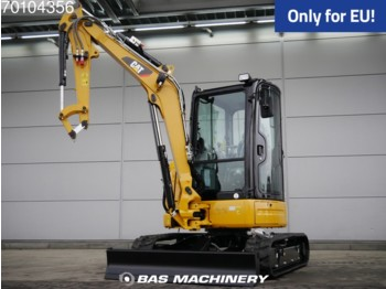 Mini ekskavatör Caterpillar 303.5E CR New Unused - full warranty until 22-02-2021 parts labour: fotoğraf 1