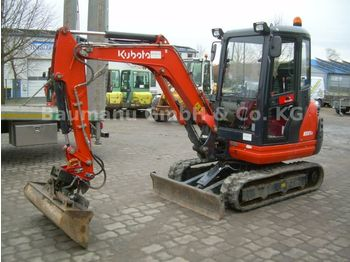 Kubota KX 61-3, Bj 16, 415 BH, MS 03, TL, GLV, TOP  - mini ekskavatör