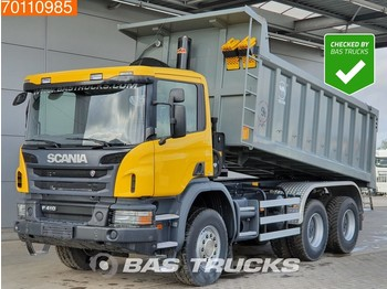 Damperli kamyon Scania P410 6X4 Manual Big-Axle Steelsuspension Euro 3