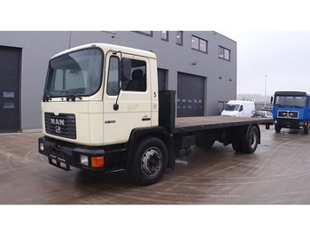 MAN 18.222 (6 CYLINDER ENGINE WITH MANUAL PUMP and ZF-GEARBOX) - sal kasa kamyon