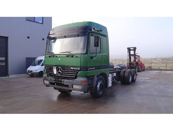 Mercedes-Benz Actros 2640 (BIG AXLE / MANUAL GEARBOX / 6X4 / 10 TIRES) - şasi kamyon
