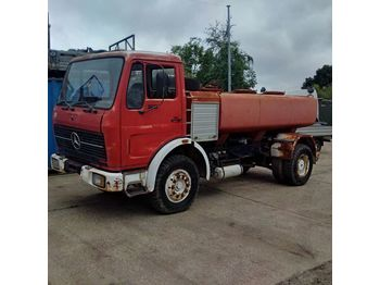 MERCEDES-BENZ 1613 left hand drive 6 cylinder 7000 litres WATER - tank kamyon