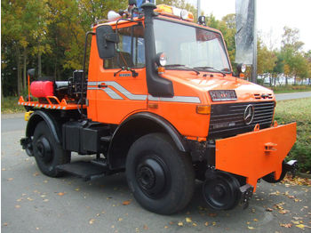 Unimog U 1400 Road and Rail  - kamyon