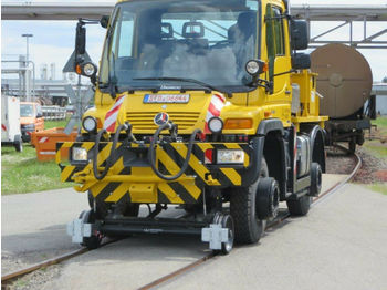 Unimog U 400 Road and Rail  - kamyon