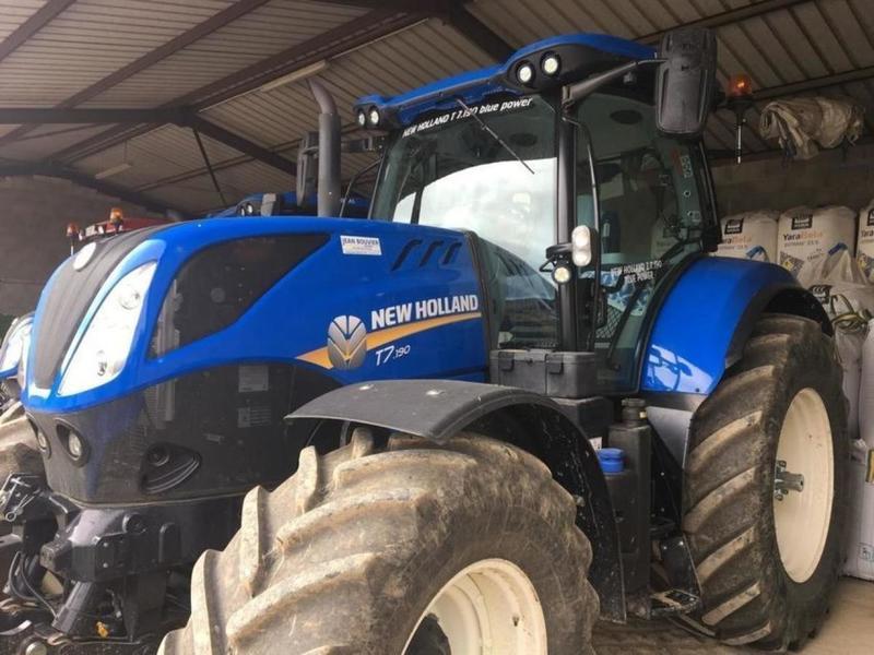 Satılık New Holland T7 190 tarım traktör dan Almanya sitesi